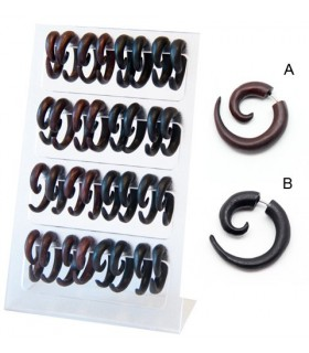 Expositor falsa espiral madera - IP1420
