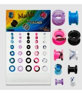 Expositor colores tipo mármol - EP2018