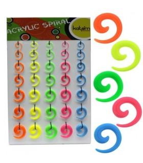 Spiral dilators colors - EXP3043