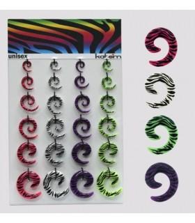 Exhibitor spiral Zebra 3 - 10mm - EXP3037