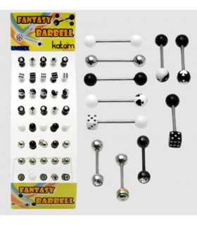 Exhibitor tongue piercing - BRB6400