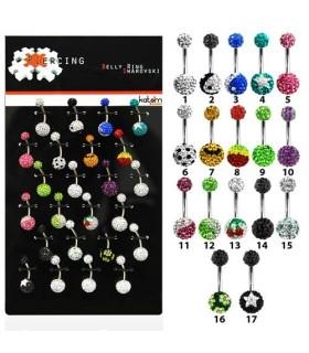 Exhibitor 2 swarovski beads - BEL22