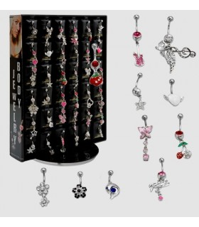 Navel piercing steel - BEL72