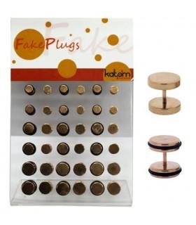 Gold rose fake plug -IP1525GR