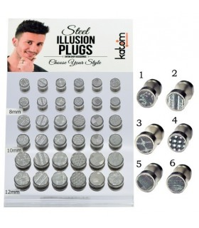 Fake plugs display with holograms - IP1571