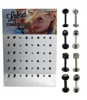 Expositor piercing labio variado-MDN7023