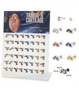Helix/Tragus Display - HEL-CAR2