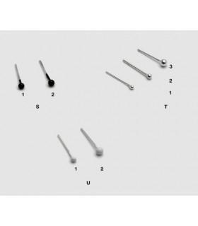 Piercing nose ball Durado and crystal DNS107