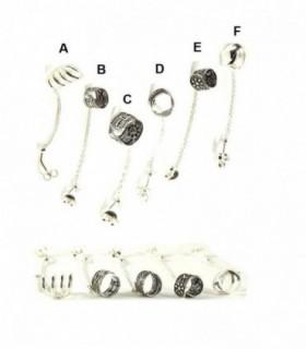 Falso Aro de plata para cartilago oreja - EC2D