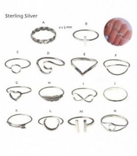 Midi Ring de plata - MR1D