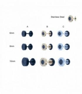 Falsa dilatación negro y greca - IP1097GD